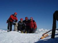Cara Nord del Pico Aspe, 2643 mts, 22/03/09