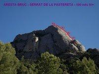 Serrat de la Pastereta, Aresta Brucs 20-12-09